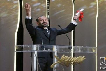 فوری : اصغر فرهادی برنده جایزه بهترین سناریو برای فیلم فروشنده از جشنواره فیلم کن شد