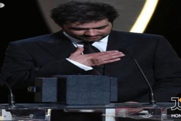 ویدئو:سخنان شهاب حسینی برنده نخل طلای بهترین بازیگر مرد جشنواره کن ۲۰۱۶