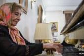 فیلمی  کمیاب از پیانو نوازی استاد «فخری ملک پور»