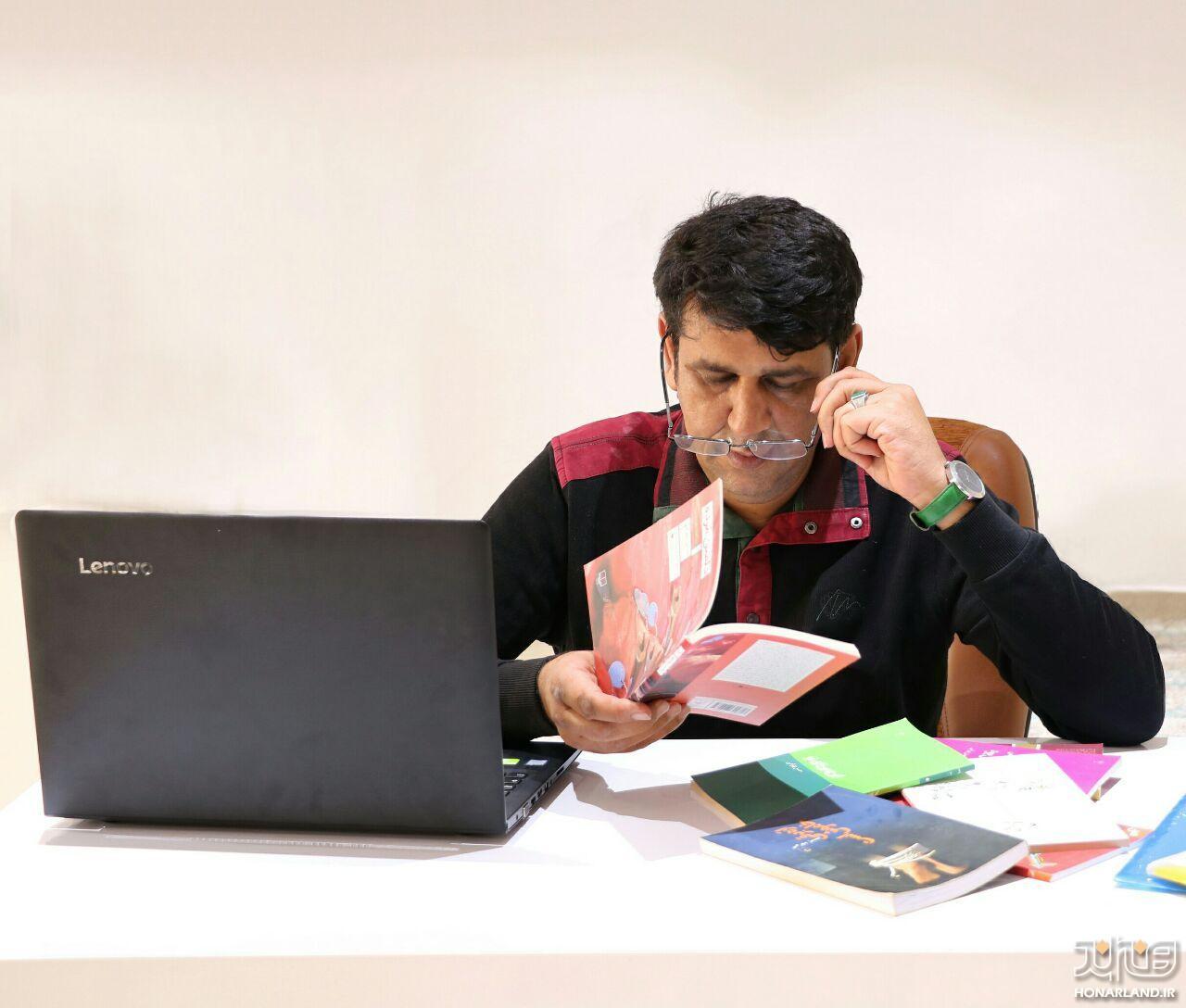 حسن بهرامی نویسنده ای از تاسار | از معلمی تا نویسندگی| قسمت اول