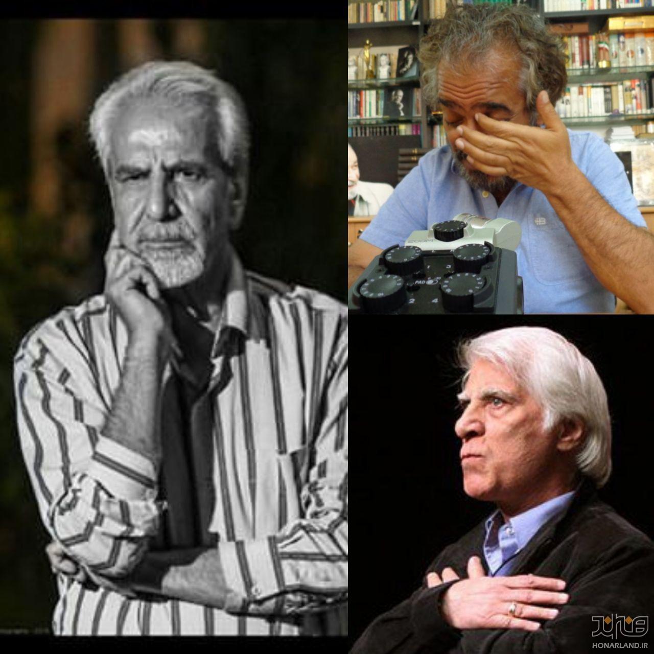 پیامهای تسلیت بزرگان تئاتر برای استاد محمد کوثری: بهرام بیضایی،احمد سپاسدار،اصغر همت