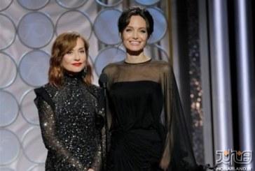 دریافت جوایز گلدن گلوب ۲۰۱۸ با لباس عزا
